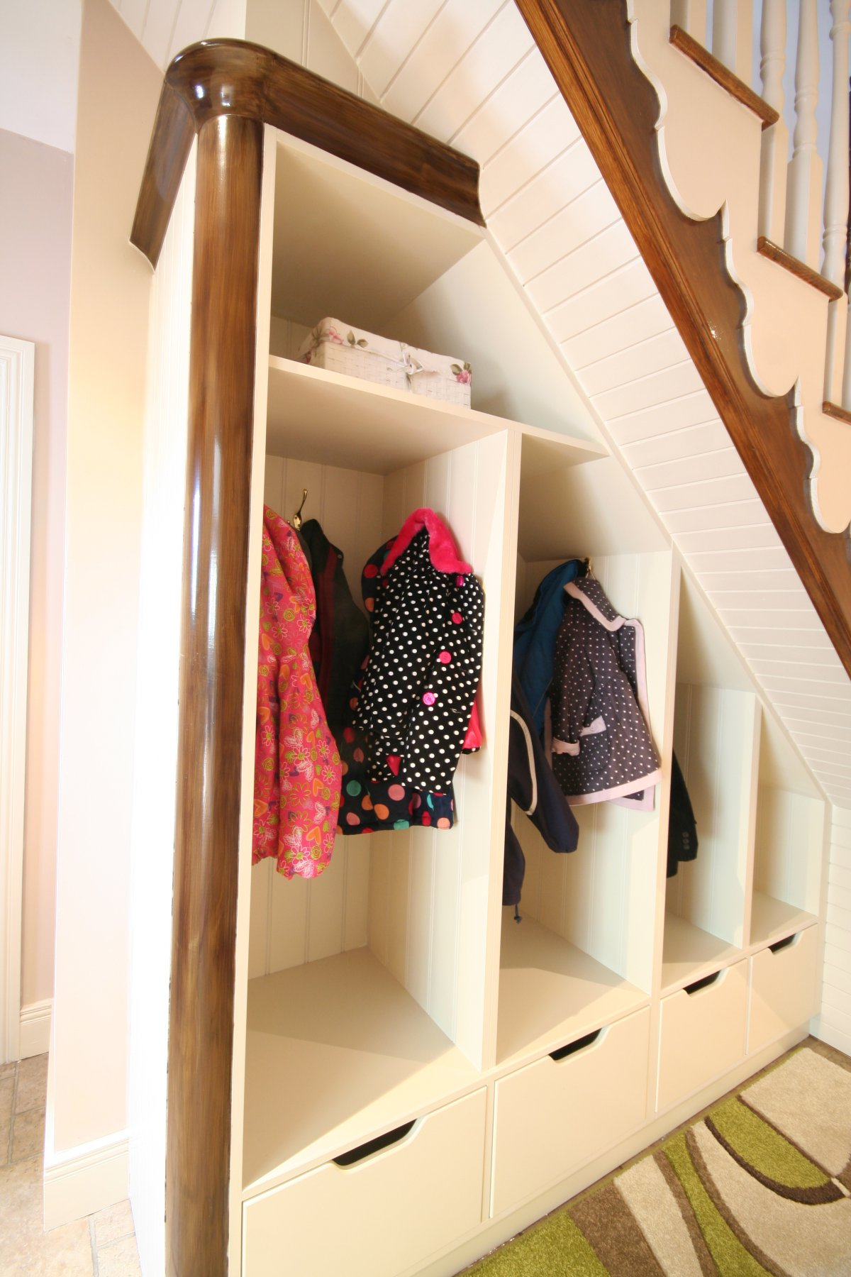 Bespoke Under Stairs Shelving: Bespoke Storage Unit Under Stairs